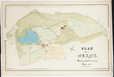 Frederic Joseph Church, Plan of Olana